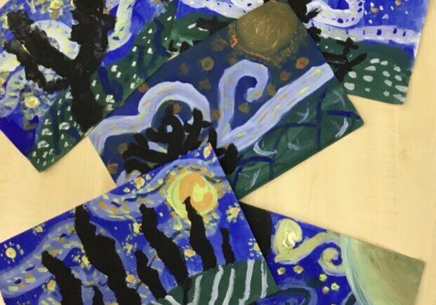 Starry Night Artwork
